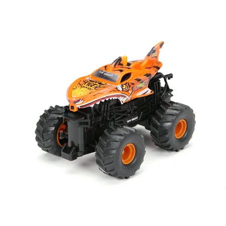 Thunder Tiger Rc - New Bright RC 1:43 Radio Control Tiger Shark Monster Truck - Orange