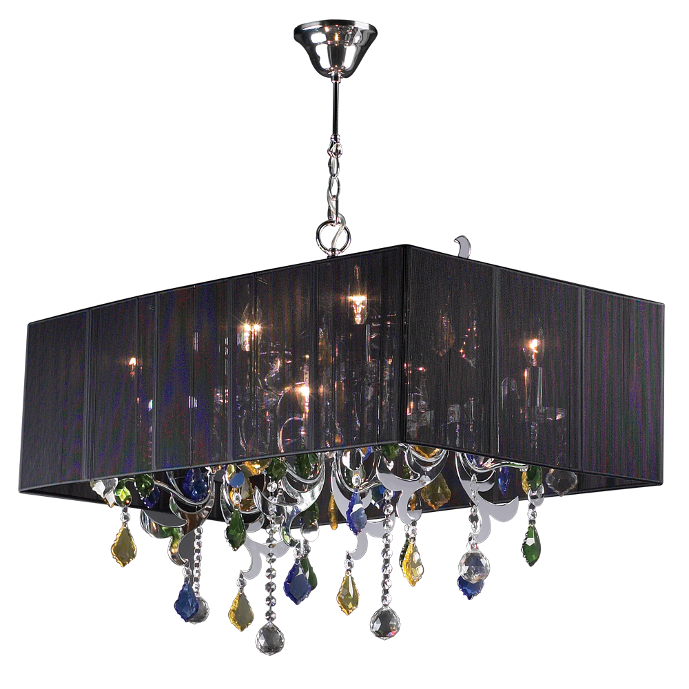 PLC 5 Light Chandelier Torcello Collection 34112 PC