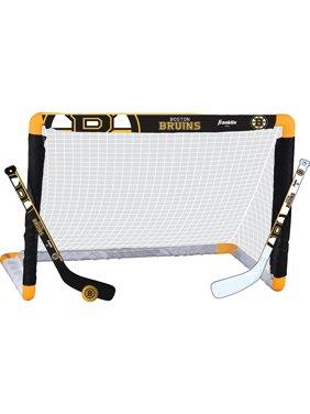 Franklin NHL Mini Hockey Goal Set, Bruins