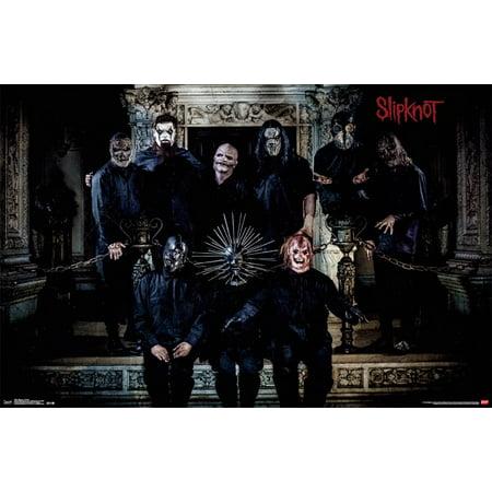 Trends International Slipknot Portrait Wall Poster 22.375