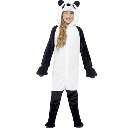 Panda Child Costume - Diy Panda Costume