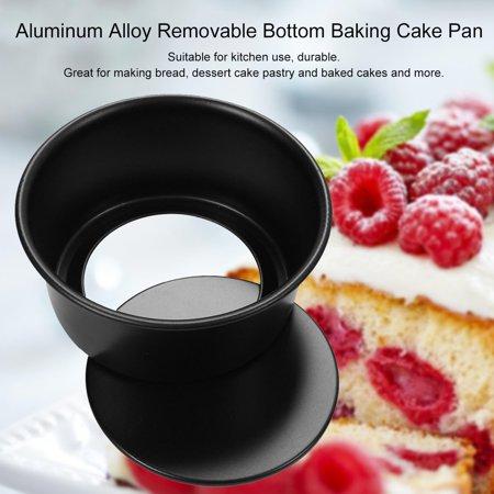 4/5/6/7/8/9/10/11/12 Inch Aluminum Alloy Removable Bottom Baking Cake Pan - image 7 de 8