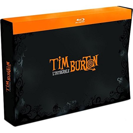 Tim Burton Collection - 18-Disc Box Set ( Pee-wee's Big Adventure / Beetlejuice / Batman / Edward Scissorhands / Batman Returns / The Nightmare Before Christmas [ Blu-Ray, Reg.A/B/C Import - France ] (Best Tim Burton Halloween Movies)