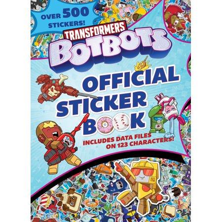 Transformers BotBots Official Sticker Book (Transformers BotBots) (Transformer Book Nvidia)