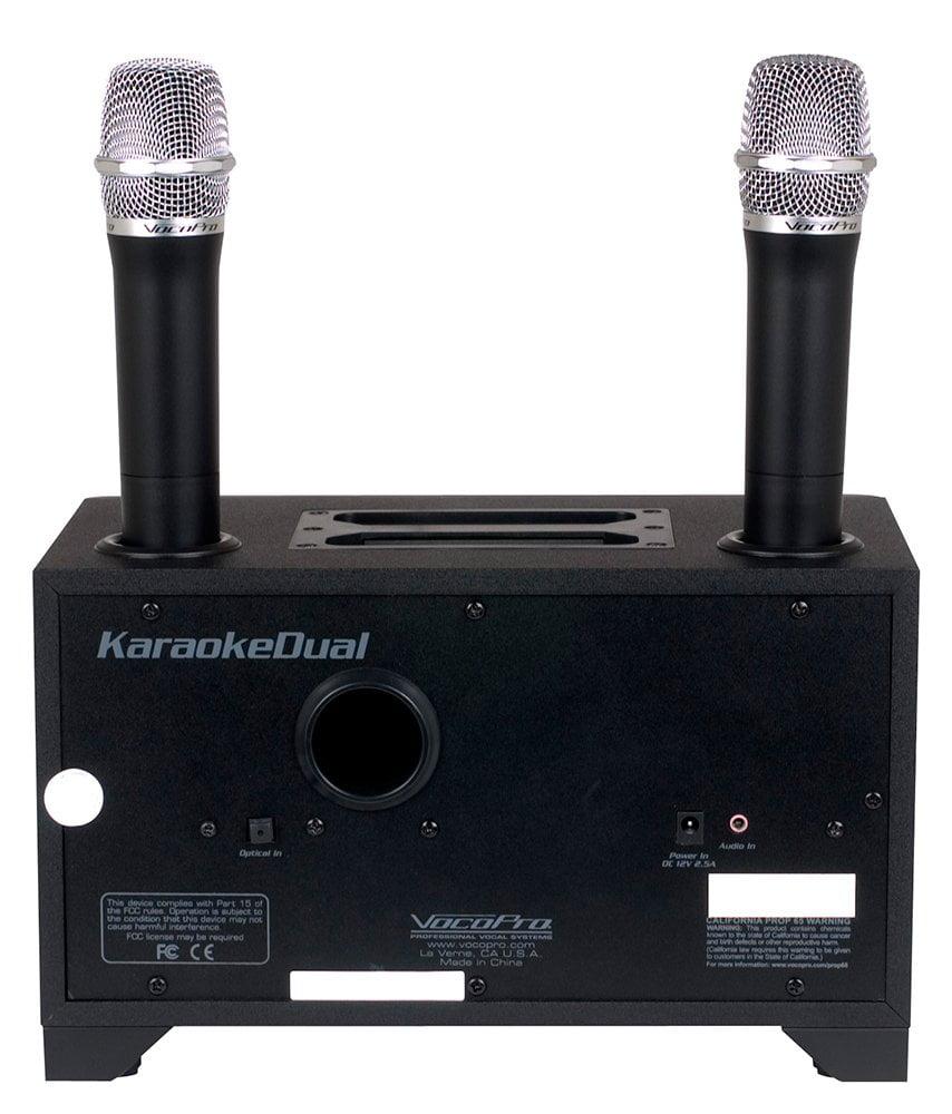 Vocopro KARAOKEDUAL 100w,table smart, Tv Karaoke Sys by VocoPro