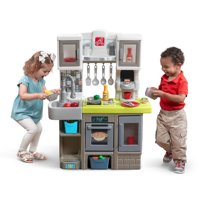 Step2 Contemporary Chef Play Kitchen with 20 Piece Accessory Set