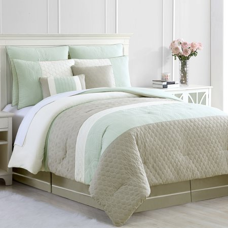 Palisades Comforter Set (Amrapur Overseas Inc. Palisades 8 Piece Polyester Comforter Set)