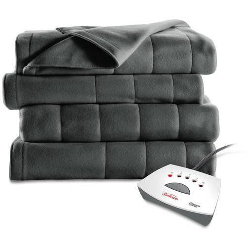 Sunbeam Electric Heated Fleece Blanket (BSF9LQR82522BWD)