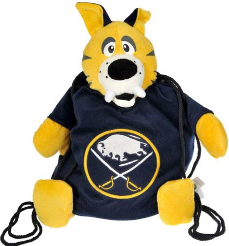 Buffalo Sabres NHL Plush Mascot Backpack Pal
