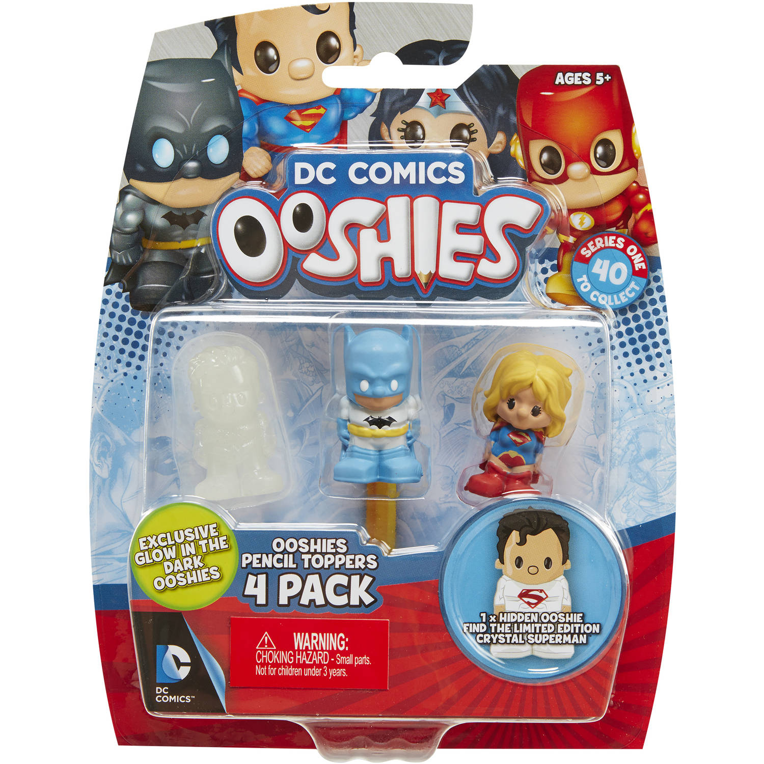 Ooshies Justice League 4-Packs #4