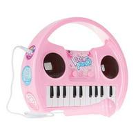 Hey Play M420025 Kids Karaoke Machine with Microphone