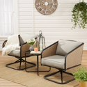 Mainstays Cruz Bay 3-Piece Patio Wicker Chat Set