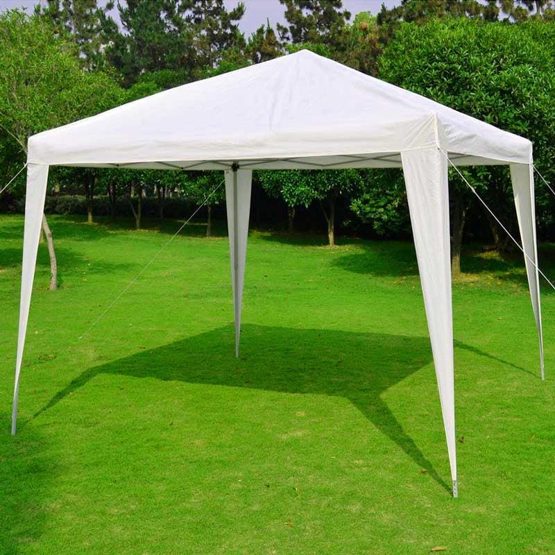 eWarehouseDirect EZ POP UP 10'x10' Straight Leg Instant Canopy Gazebo Shelter W Carry Bag New by New