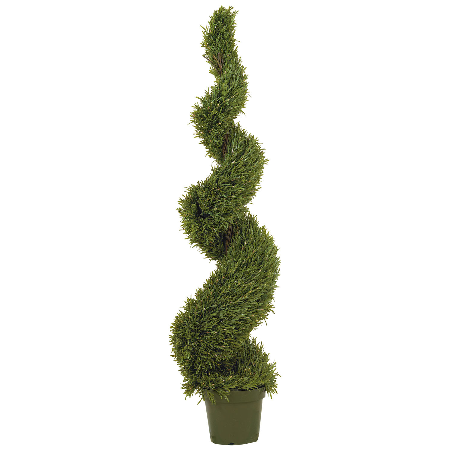 Nearly Natural 5ft Rosemary Spiral Silk Tree (In-door/Out...