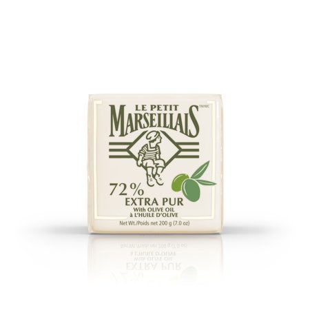 (3 pack) Le Petit Marseillais 72% Extra Pur Bar Soap with Olive Oil, 7 oz