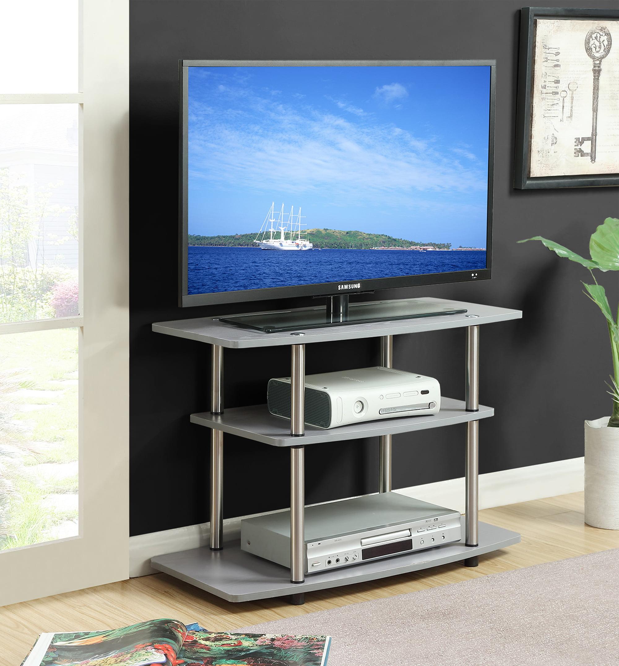 Cherry Finish Designs2Go 3 Tier TV Stand 131020CH