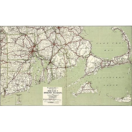 Cape Cod Golf Courses Map on