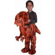 Brown Dino Rider Toddler Halloween Dress Up / Role Play Costume