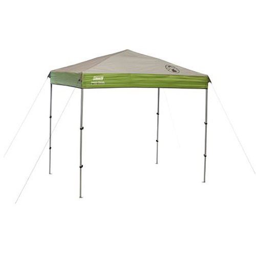 Coleman 7' x 5' Straight Leg Instant Canopy   Gazebo (35 sq. ft Coverage) by COLEMAN