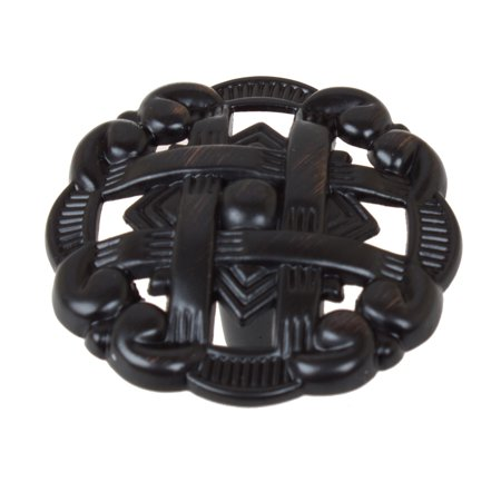 GlideRite  1.375-inch Celtic Medallion Oil Rubbed Bronze Cabinet Knobs (Pack of 10 or 25) ()