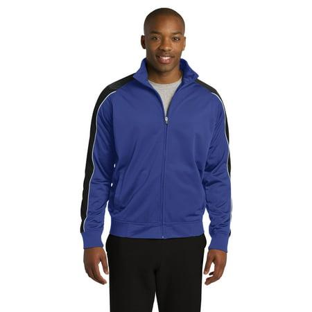 Angel Track Jacket (Sport-Tek Mens Piped Tricot Track Jacket. JST92)