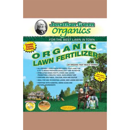 Jonathan green 11586 organic lawn fertilizer granules for Organic soil brands