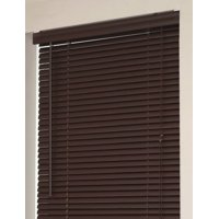 Window Blinds Mini 1 Slats Chocolate Venetian Vinyl Blind