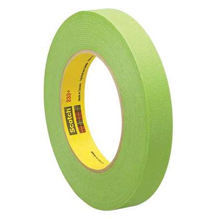 3M Masking Tape,Paper,Green,1/4