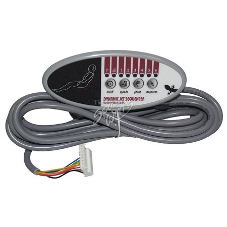 Vita Spa Side Wave Seat Electronic Spa Control VIT460111 -