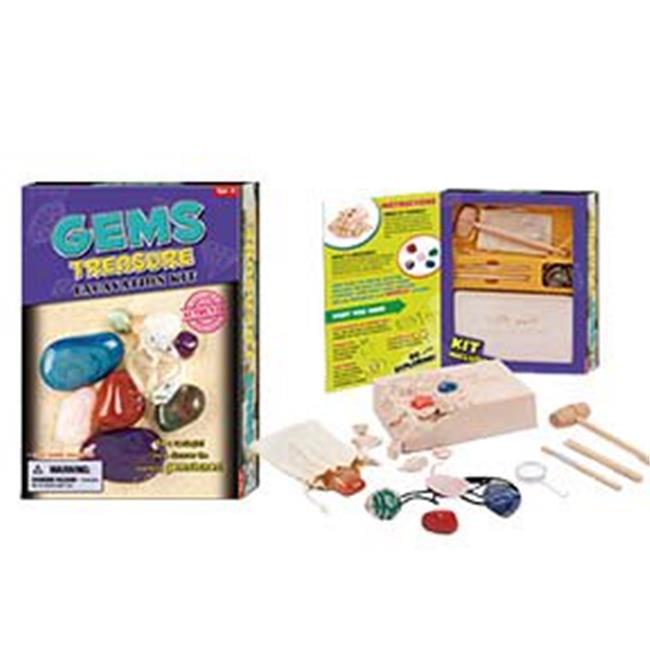 Gems Treasure Excavation Kit - Dig & Discover Gemstones!