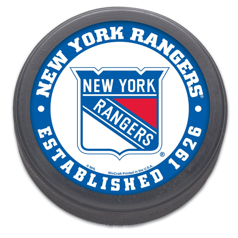 New York Rangers Official NHL Hockey Puck by Wincraft 193568
