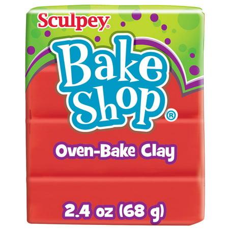 Sculpey Bake Shop 2.4 Oz. Red Oven-Bake Clay