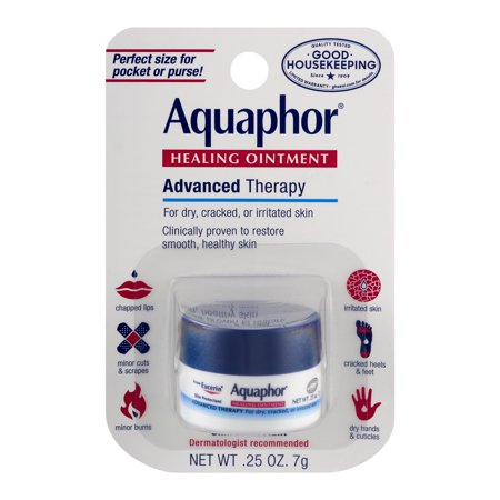 Aquaphor Advanced Therapy Healing Ointment Skin Protectant 0.25 oz. Carded Pack