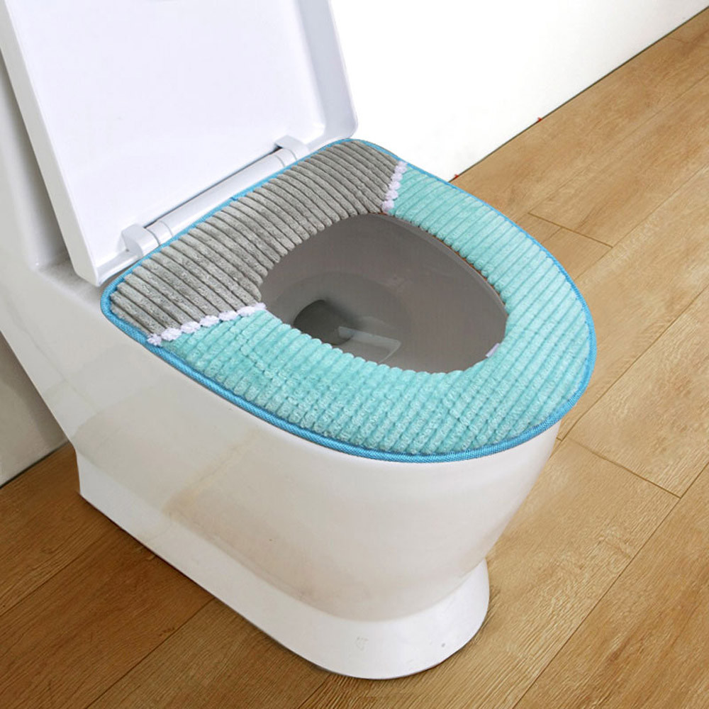 DZT1968 Bathroom Protector Closestool Soft Warmer All Shape Toilet Cover Seat Lid Pad