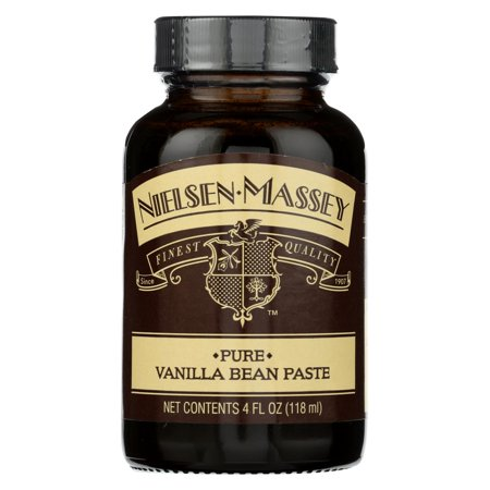 Nielsen - Massey Vanilla Bean Extract Pure Paste - Case of 6 - 4 Fl (Nielsen Massey 4 Ounce Pure Almond Extract)