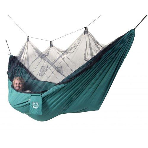 Blue Sky Hammocks Mosquito Net Hammock with Bonus Tree Strap, Green by Blue Sky Hammocks