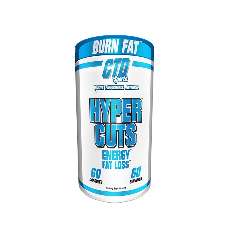 CTD Sports Hyper Cuts Energy Fat Loss Fat Burner 60 Capsules