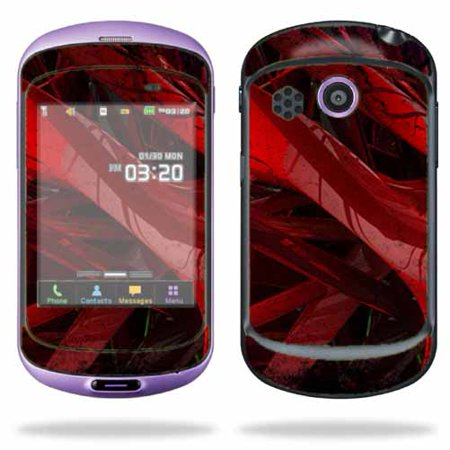 Skin Decal Wrap for Pantech Swift Cell Phone sticker Abstract Hearts ()