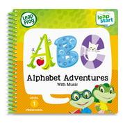 LeapFrog LeapStart Preschool Alphabet Adventure Activity Learning Book