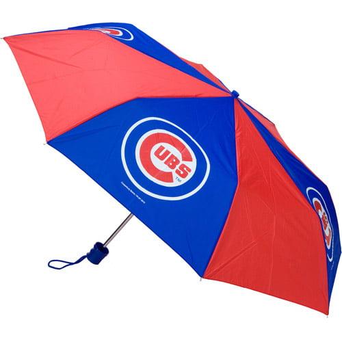 """MLB Big League 42"""" Pocket Umbrella, Chicago Cubs"""