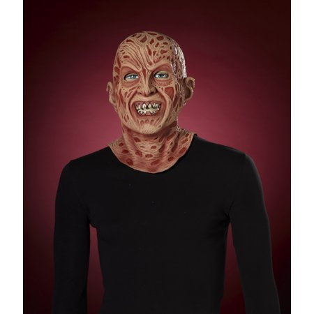 Nightmare On Elm Street Freddy Super Deluxe Latex Costume Mask Adult