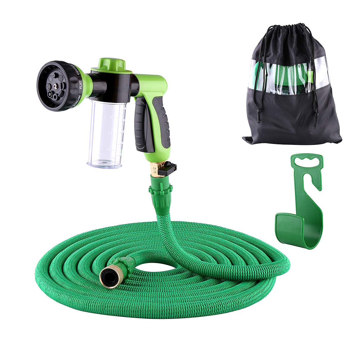 Salmope Expandable Garden Hose Set High Pressure Water Sp...