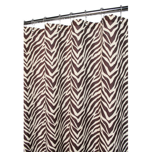 Watershed Zebra Shower Curtain