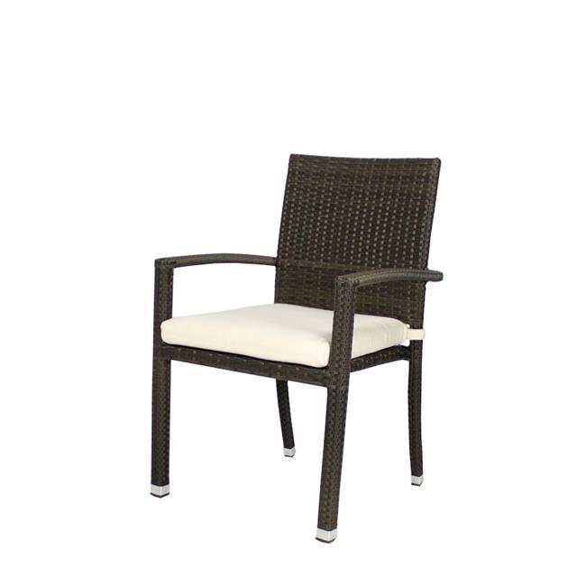 Source Outdoor SO-2002-163-ESP Zen Dining Armchair in Espresso by Source Outdoor