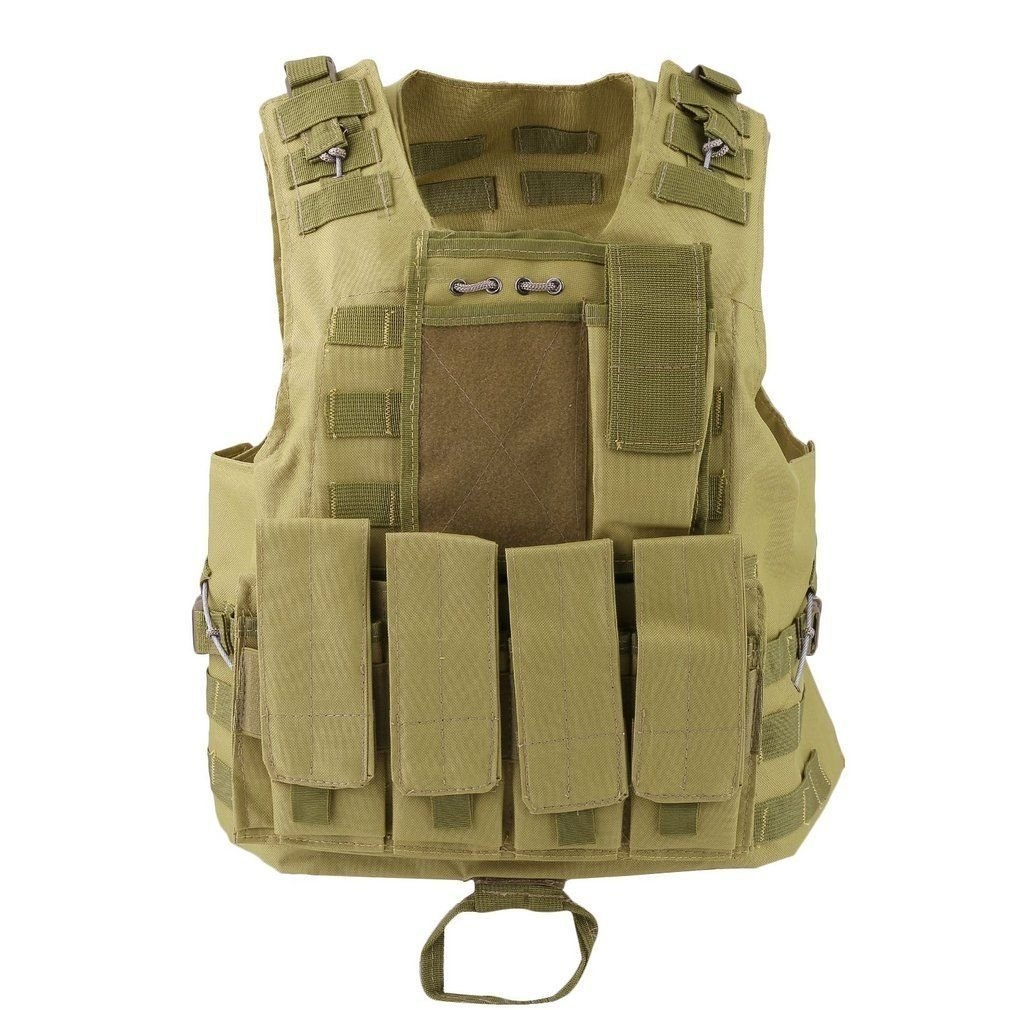 New MTN-G Hunting Tactical Military Vest SWAT Police Airsoft Molle Combat Assault Plate HM by MTN Gearsmith