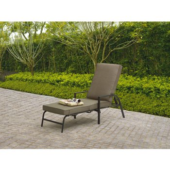 Mainstays Spring Creek Chaise Lounge