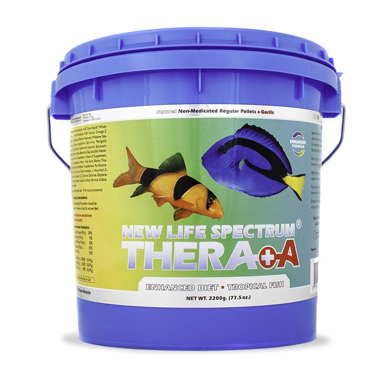 New Life Spectrum Thera A Enhanced Diet Tropical Fish Food Pellets, 2.2 kg