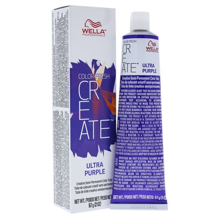 Color Fresh Create Semi-Permanent Color - Ultra Purple by Wella for Women - 2 oz Hair