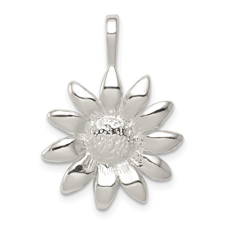 925 Sterling Silver Sunflower Pendant Charm Necklace Flower Gardening Gifts For Women For -
