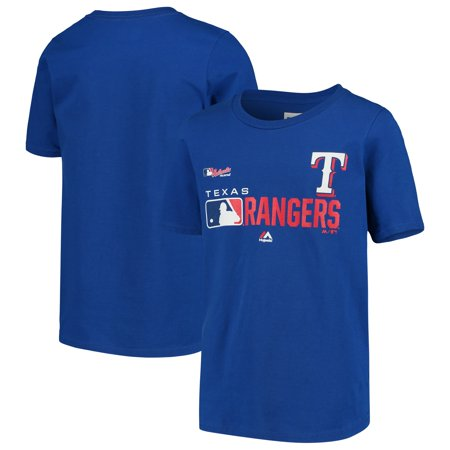 Texas Rangers Youth Authentic Collection Undefeated T-Shirt - Royal